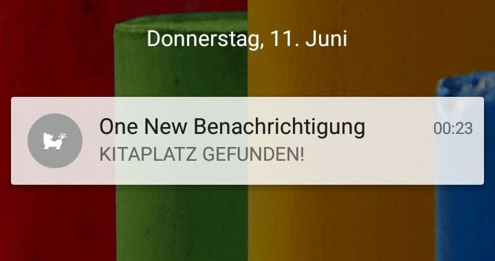 Push Notification auf dem Smartphone