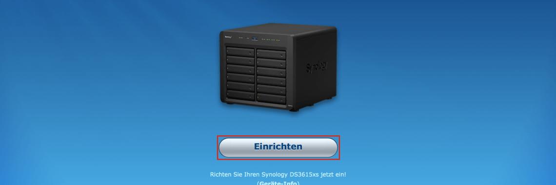 Web Assistant: Willkommensbildschirm