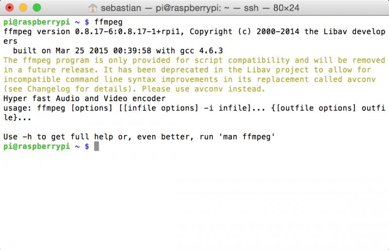 """ffmpeg: der neue Befehl zum Konvertieren heißt """"avconv"""""""