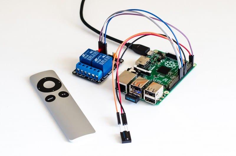 raspberry pi mit apple remote lirc python scripte steuern. Black Bedroom Furniture Sets. Home Design Ideas