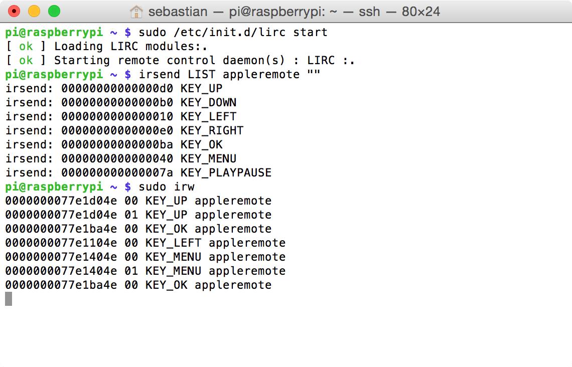 Raspberry Pi: Mit LIRC Infrarot-Befehle senden (irsend