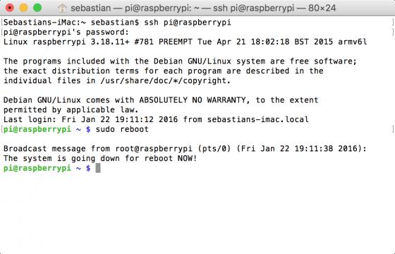 Raspberry Pi: sudo funktioniert wieder