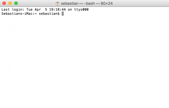 OS X: der richtige Hostname wird wieder im Terminal angezeigt