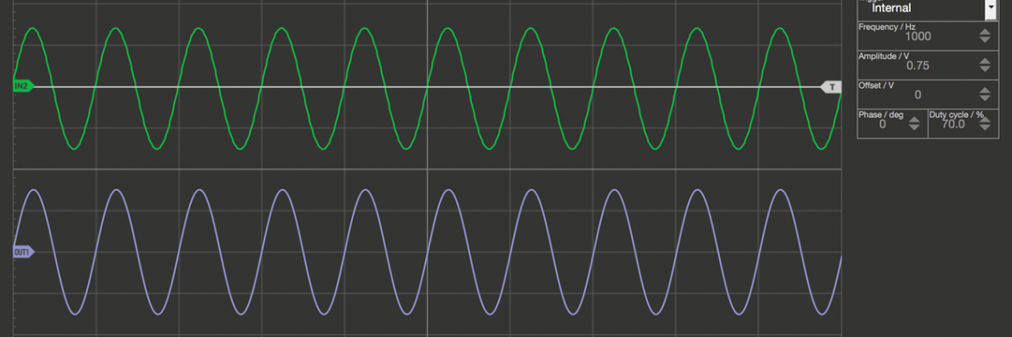 Oscilloscope Pro: Signalgenerator