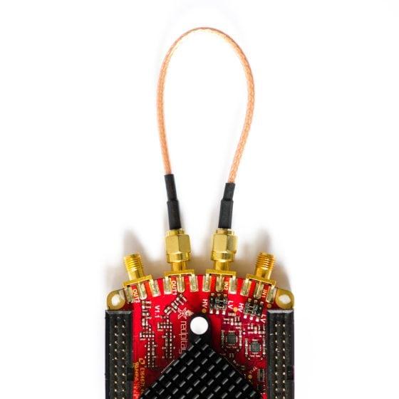 Red Pitaya: IN2 und OUT1 direkt verbunden