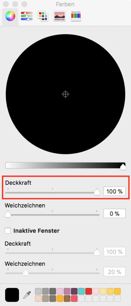 macOS Terminal: Hintergrundfarben