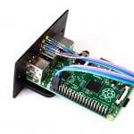 """Raspberry Pi im 19""""-Modul montiert"""