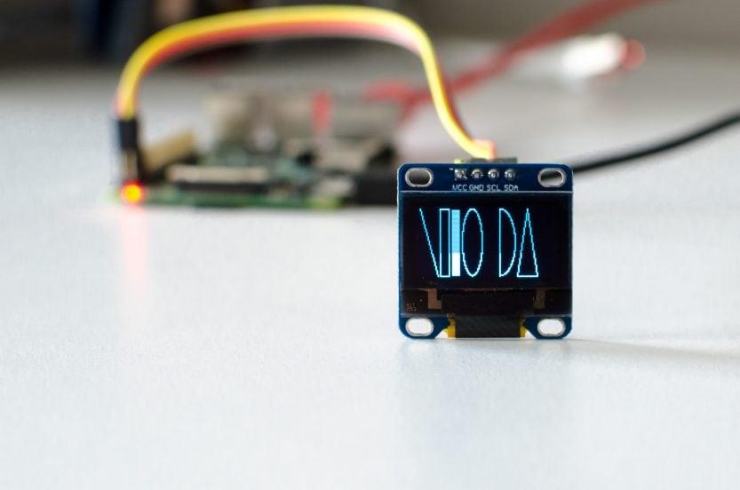 Raspberry Pi: OLED-Display-Beispiel mit Formen