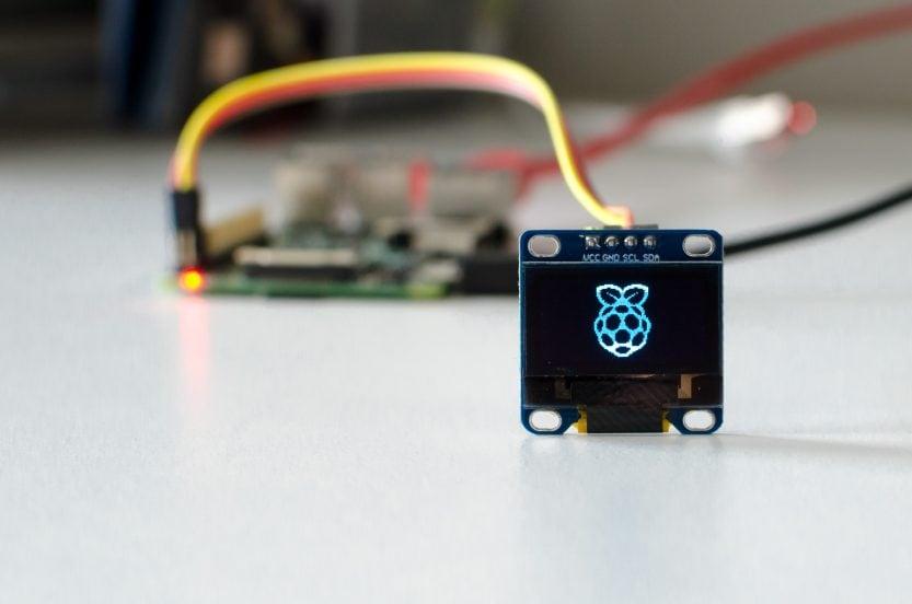 Raspberry Pi: OLED-Display-Beispiel Bild invertieren