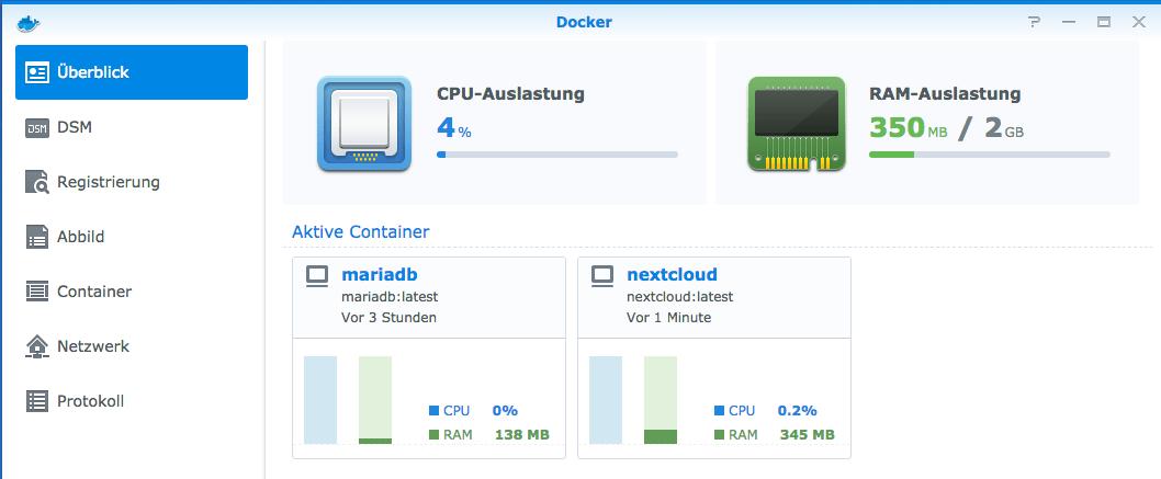 Synology: Nextcloud und Docker installieren - indiBit