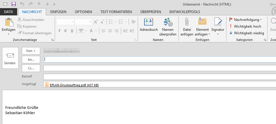 Zwei Klicks Schnell Mal Ein Pdf Ziehen Und Per E Mail Versenden