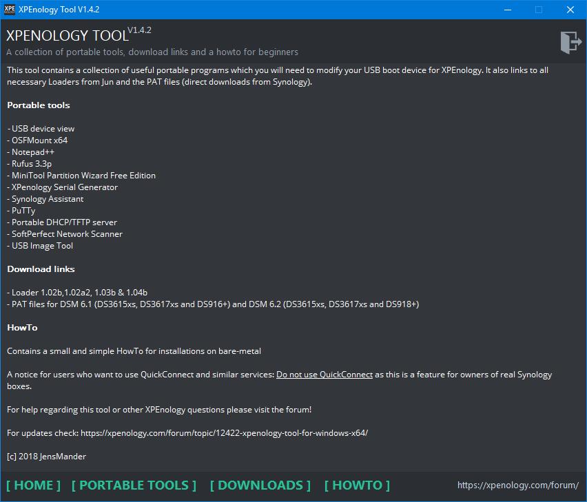 XPEnology als Betriebssystem für den Heim-Server (DSM 6 1 7