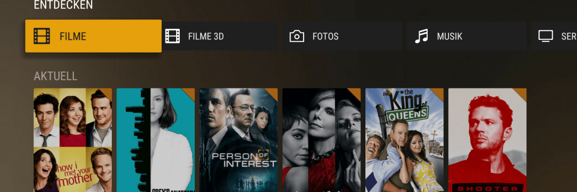Plex-App auf dem FireTV-Stick
